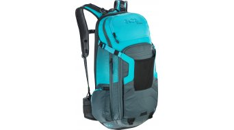 EVOC Freeride Trail 20L backpack with Anti-Impact system size M/L slate-neon blue 2019