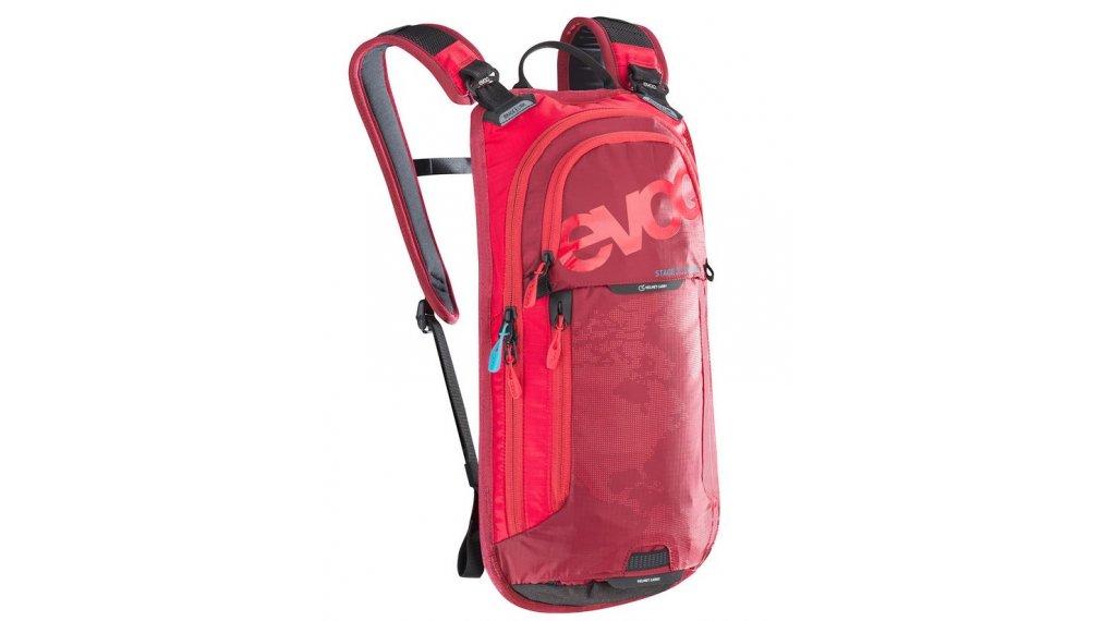 EVOC Stage Team 3L 双肩背包 含有2L 水袋 red-ruby 款型2019