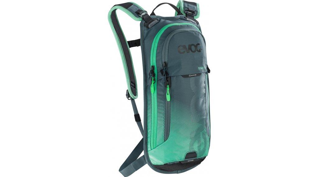 EVOC Stage 3L 双肩背包 含有2L 水袋 slate-neon green 款型2019