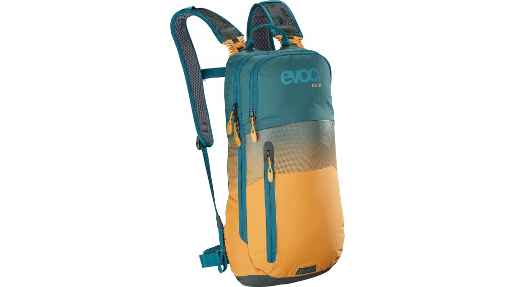 EVOC CC 6L Rucksack petrol/loam Mod. 2020