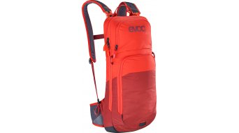 EVOC CC 10L+2L 双肩背包 有水袋 橙色/chili red 款型 2020