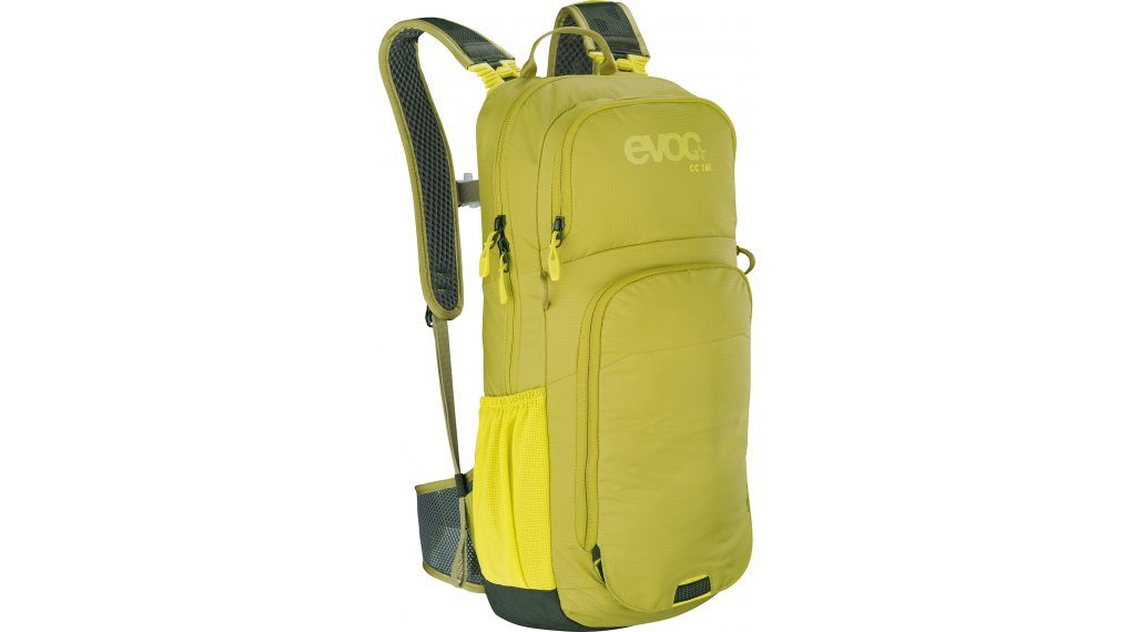 EVOC CC 16L+2L 双肩背包 有水袋 moss green 款型 2020