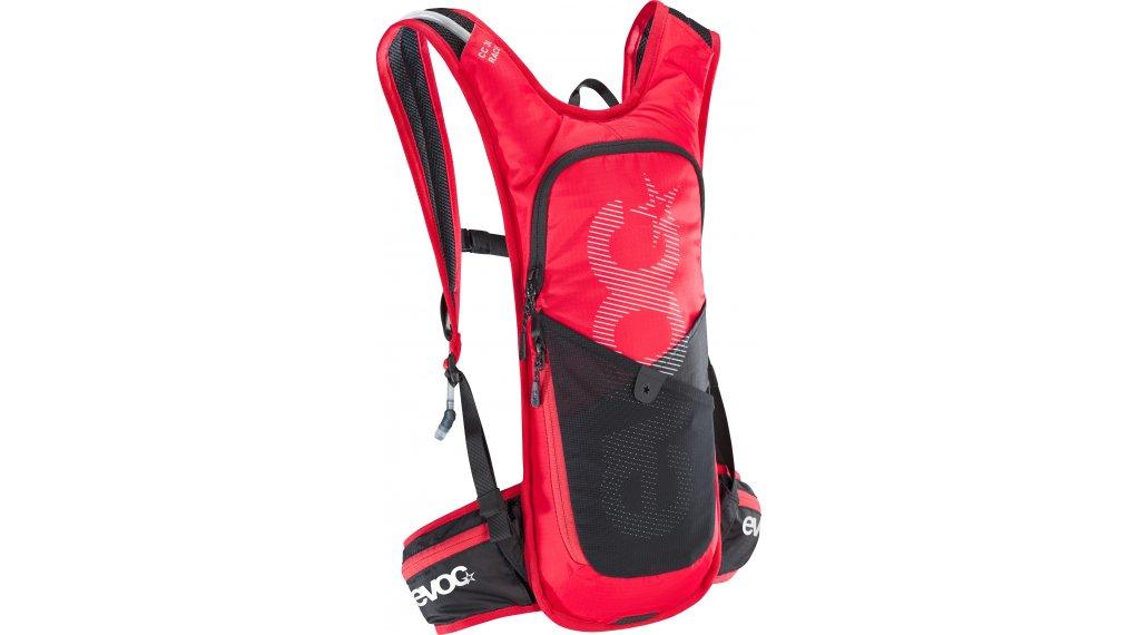 EVOC CC Race 3L + 2L Rucksack red/black