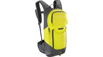 EVOC Freeride Lite Race 10L backpack with Anti-Impact system carbon grey/sulphur 2020