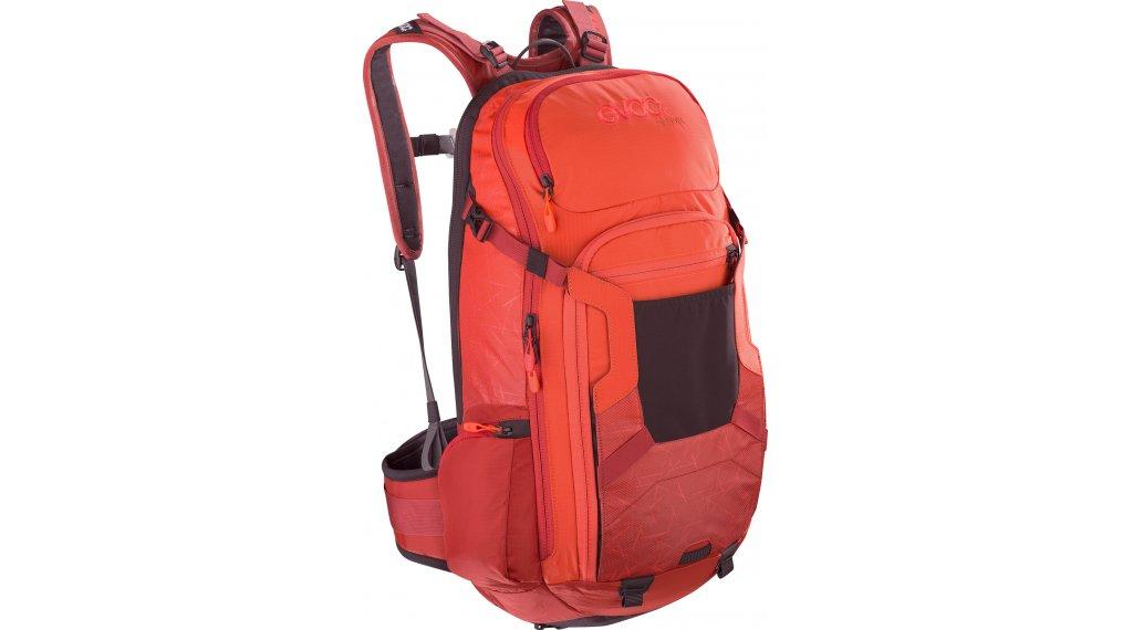 EVOC Freeride Trail 20L Rucksack mit Anti-Impact System Gr. M/L orange/chili red Mod.2020