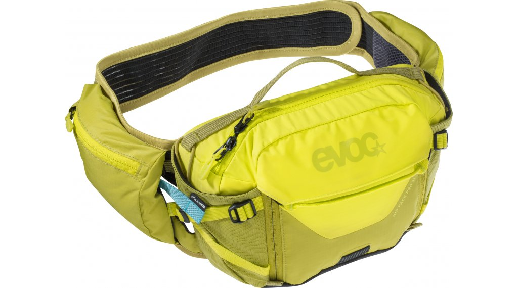 EVOC Hip Pack PRO 3L belt pocket (without reservoir) sulphur/moss green 2020