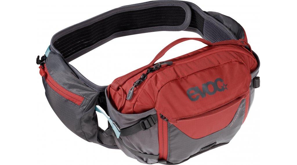 EVOC Hip Pack PRO 3L belt pocket incl. 1.5L reservoir carbon grey/chili red 2020
