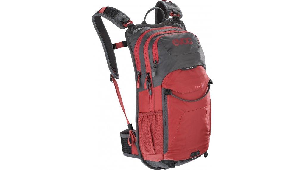 EVOC Stage 12L 双肩背包 grey/chili red 款型 2020