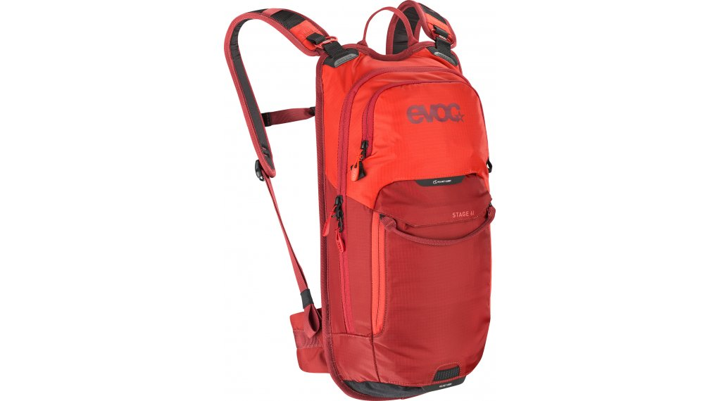 EVOC Stage 6L Rucksack orange/chili red