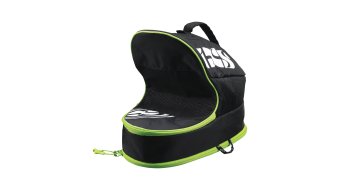 iXS Logo Full Face Borsa per casco black/green mod. 2020