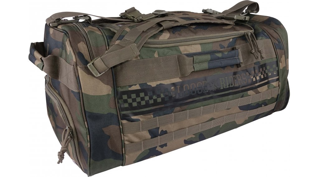Loose Riders Sessions Tactical Tasche green camo Mod. 2020