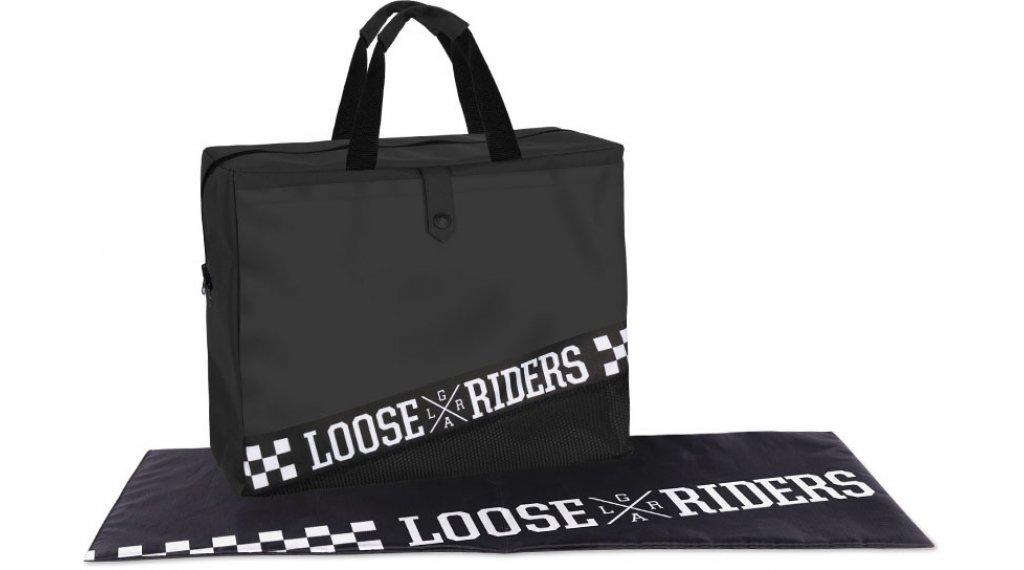 Loose Rider Black Dirtbag mis. unisize nero