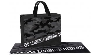 Loose Riders charcoal camo Dirtbag Gr. unisize grey/black