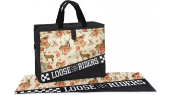 Loose Riders Forest Animals Dirtbag Gr. unisize orange/grey