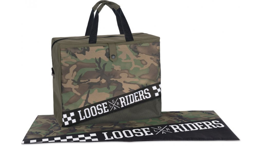 Loose Riders forest camo Dirtbag Gr. unisize green/brown