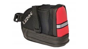 Lezyne Caddy bolso para sillín tamaño L negro/rojo