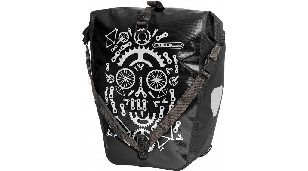 Ortlieb Back-Roller Design Hinterradtasche dia de la rueda (black/white)