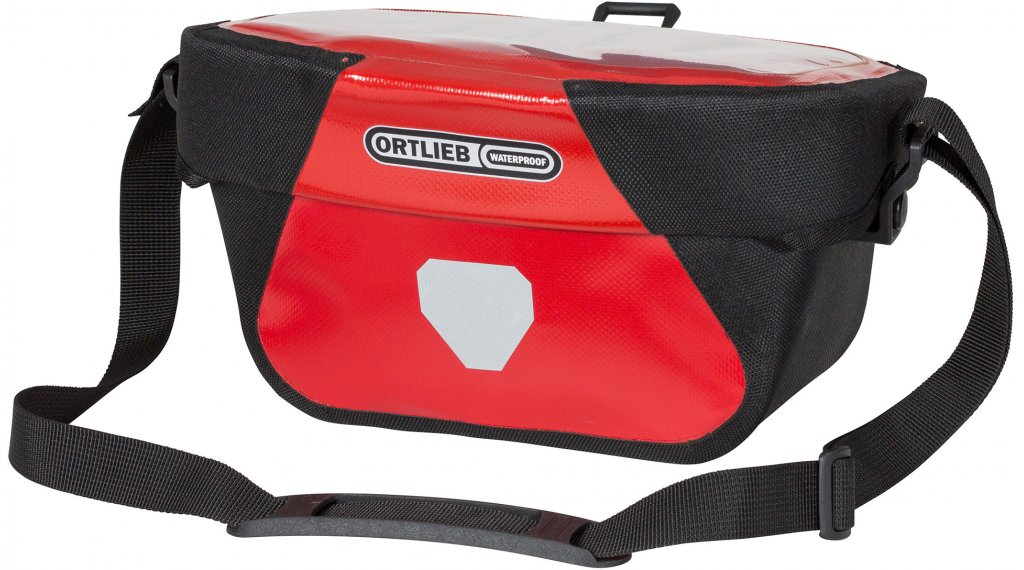 Ortlieb Ultimate Six Classic S Lenkertasche red/black