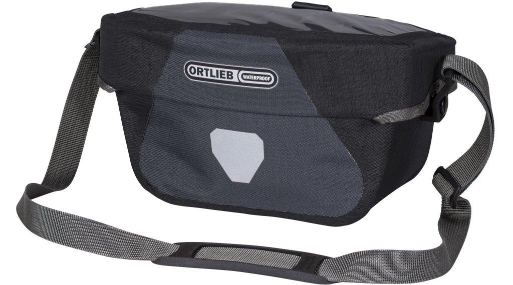 Ortlieb Ultimate Six Plus S handle bar pocket granite/black