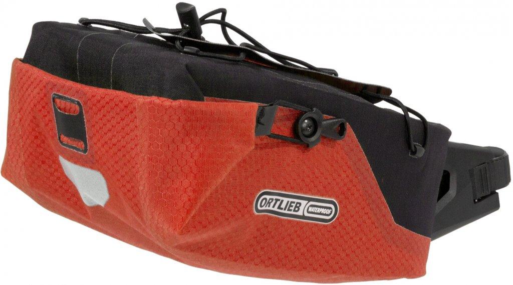 Ortlieb Seatpost-Bag bolso para tija del sillín tamaño M signalred/negro (Volumen: 4 Liter)