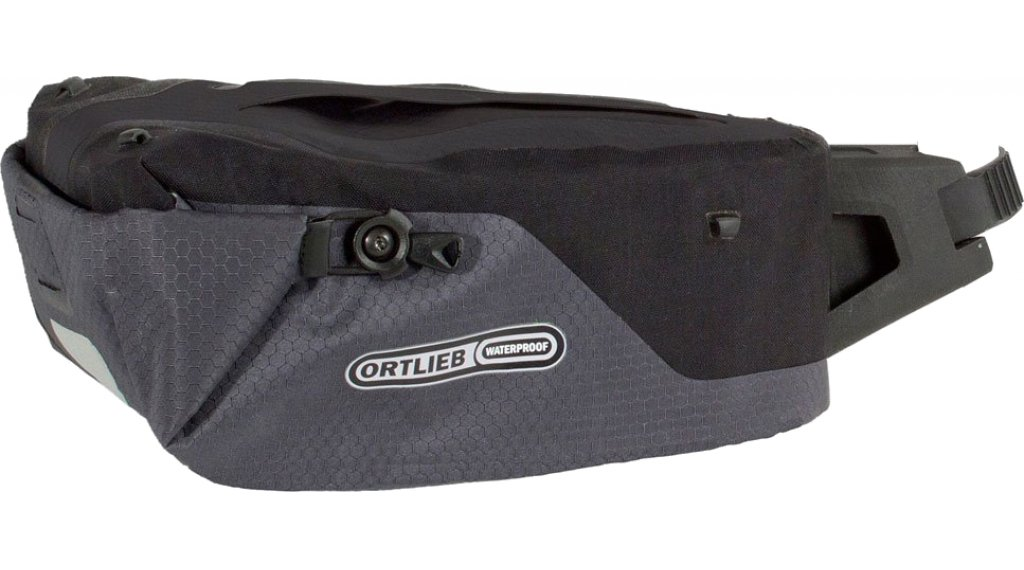 Ortlieb Seatpost-Bag bolso para tija del sillín tamaño M slate/negro (Volumen: 4 Liter)