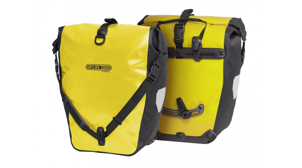 Ortlieb Back-Roller Classic Hinterradtaschen yellow/black