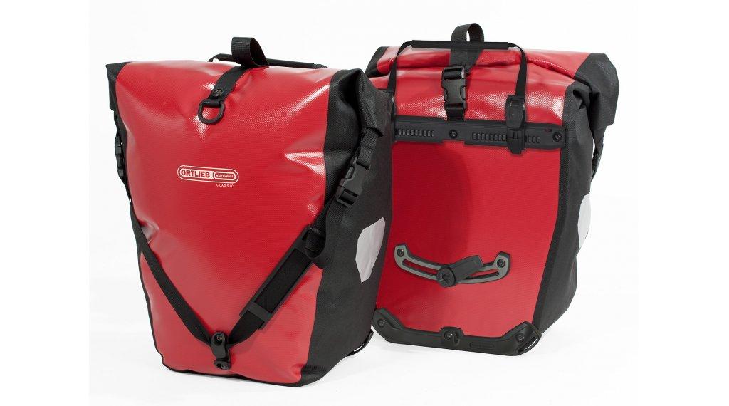 Ortlieb Back-Roller Classic Hinterradtaschen red/black
