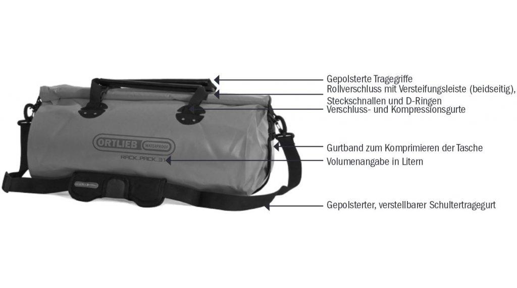 Ortlieb Rack Pack P620 Tasche G 252 Nstig Kaufen