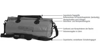 Ortlieb Rack-Pack 24L Reisetasche red
