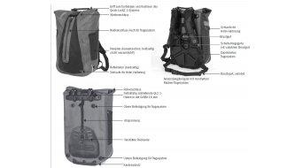 Ortlieb Vario QL2.1 Rucksack black