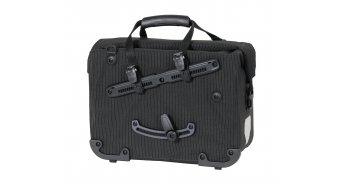 Ortlieb Office-Bag High Visibility bicicleta-portafolios QL2.1 tamaño L negro (Volumen: 21 Liter)