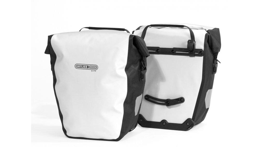 Ortlieb Back-Roller City Hinterradtaschen white/black