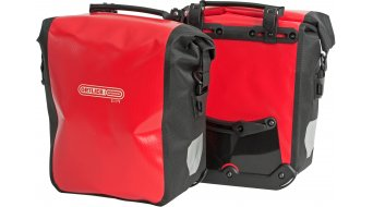 Ortlieb Sport-Roller City Vorder-/Hinterradtaschen red/black
