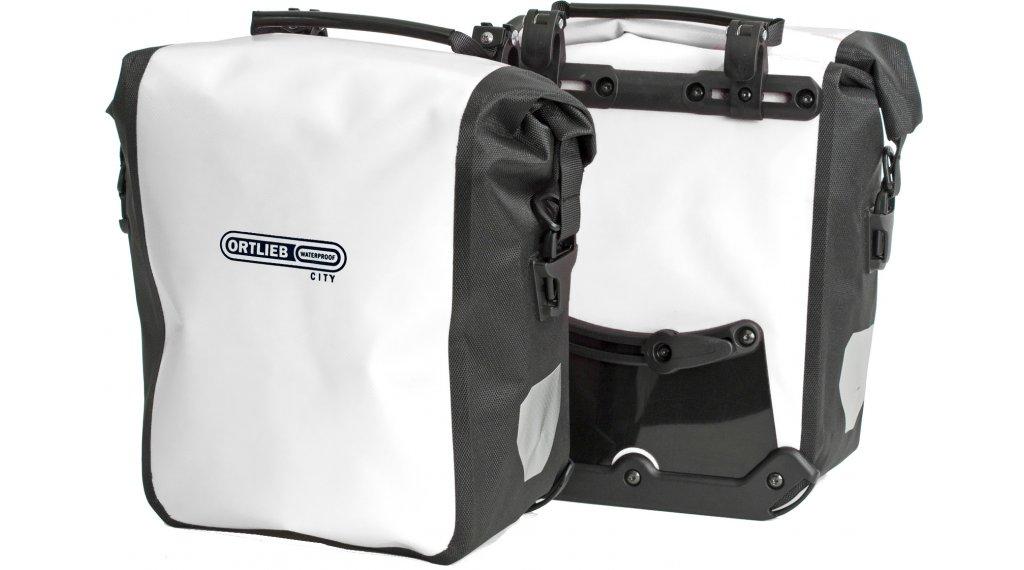 Ortlieb Sport-Roller City Fahrradtaschen white-black