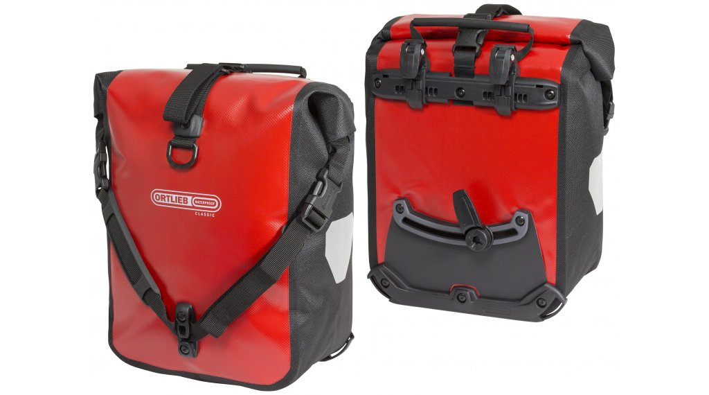 Ortlieb Sport-Roller Classic Fahrradtaschen red-black