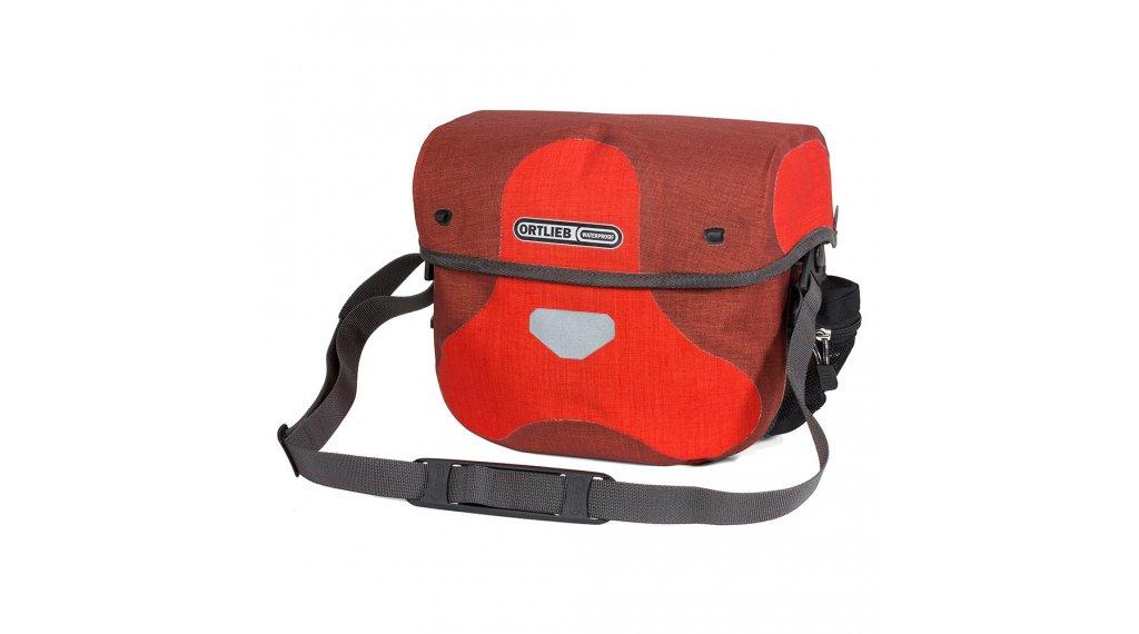 Ortlieb Ultimate6 Plus handle bar bag size S signalred/dark chili (capacity: 5 Liter)