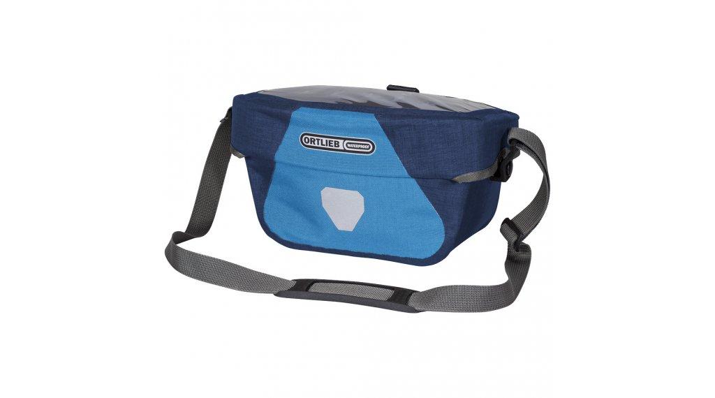 Ortlieb Ultimate6 Plus handle bar bag size S denim/steel blue (capacity: 5 Liter)