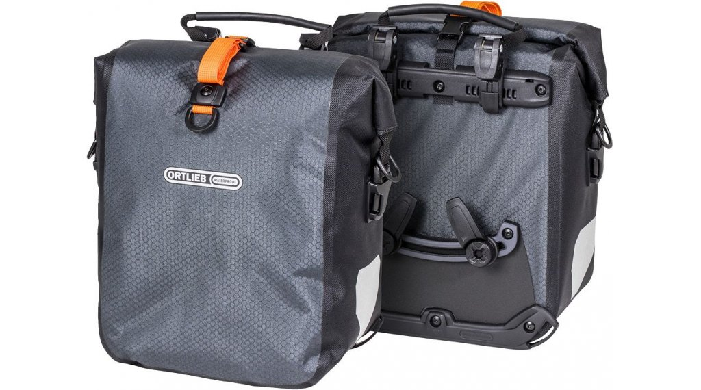 Ortlieb Gravel-Pack Hinterradtaschen slate