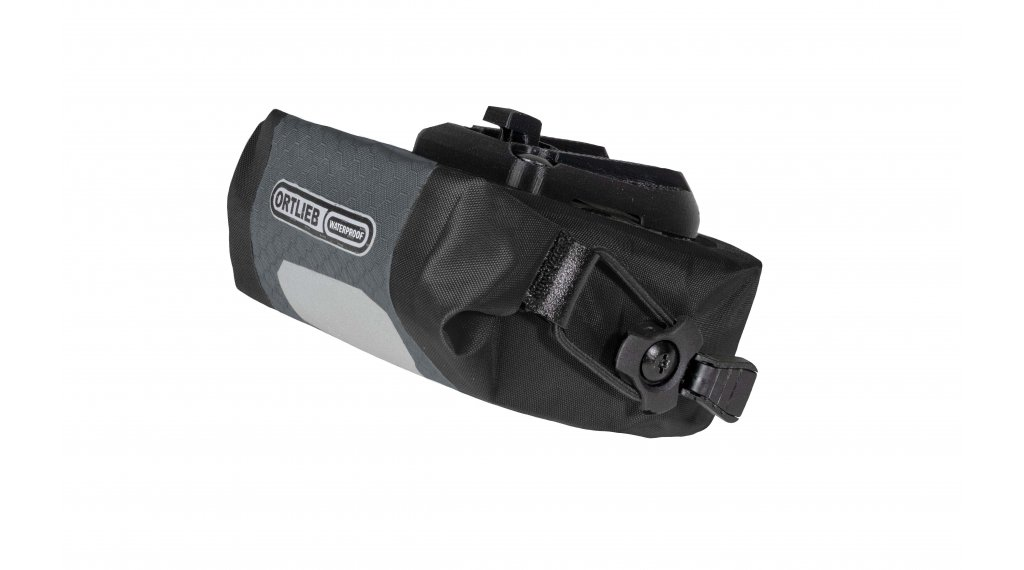 Ortlieb Micro Two bolso(-s) para sillín slate/negro (Volumen: 0.5 Liter)