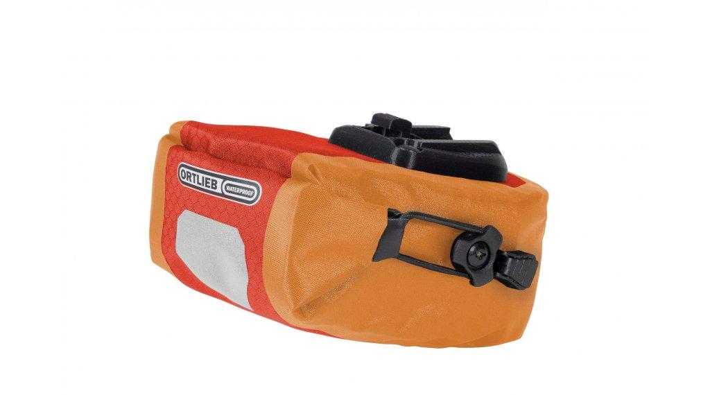 Ortlieb Micro Two bolso(-s) para sillín signalred/naranja (Volumen: 0.8 Liter)