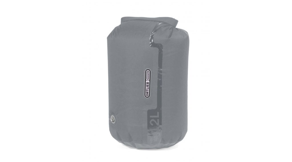 Ortlieb DryBag PS10 12L Packsack mit Ventil light grey