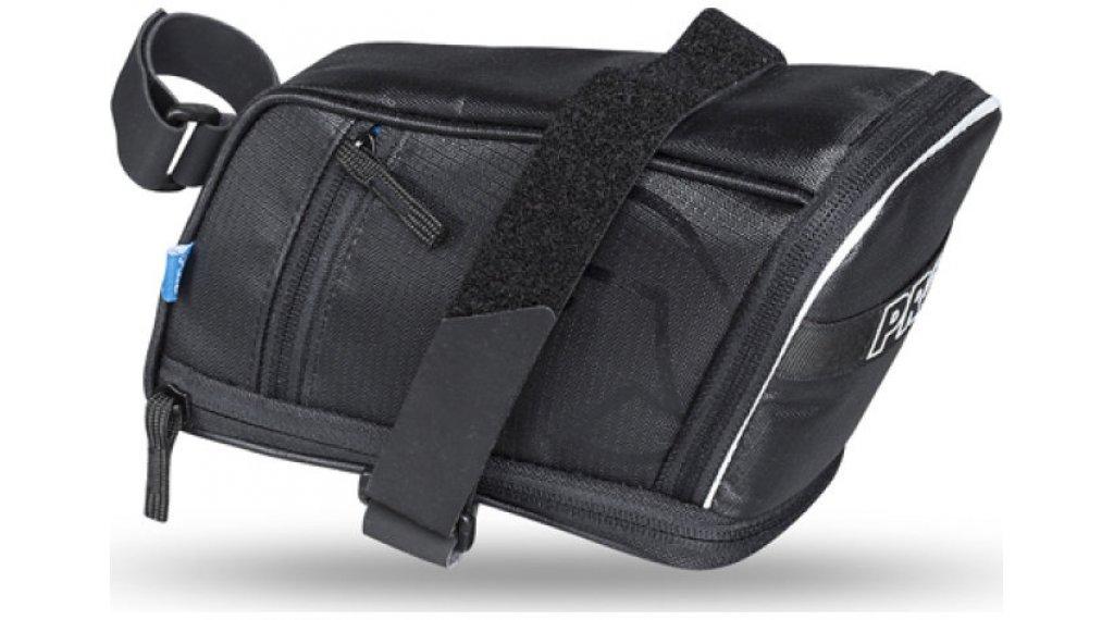 PRO Satteltasche Maxi Plus 1,5-2,0 L Riemen-/Klett-System black