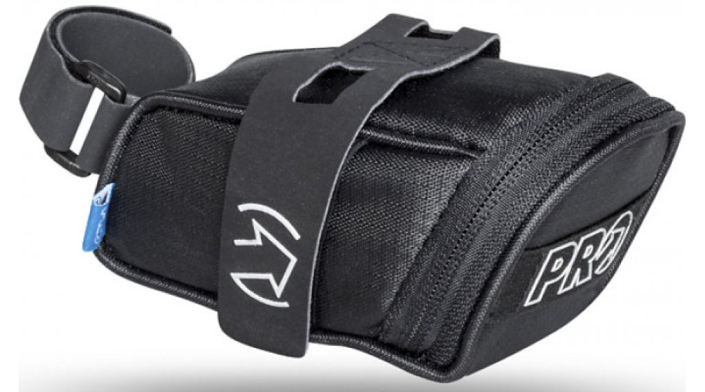 PRO Satteltasche Mini 0,4 L Riemen-/Klett-System black