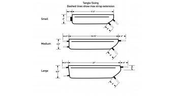 Revelate Designs Tangle Rahmentasche Gr. L black