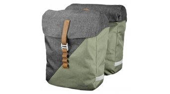 Racktime Heda Snap-it Hinterradtasche grey