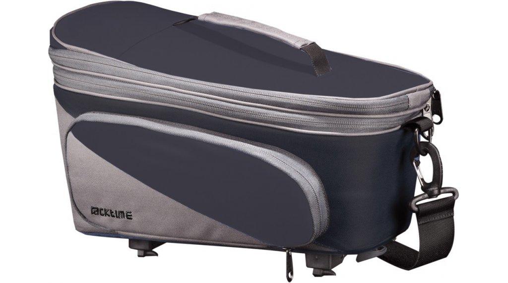 Racktime Talis Plus Gepäckträgertasche carbonblack/stone grey