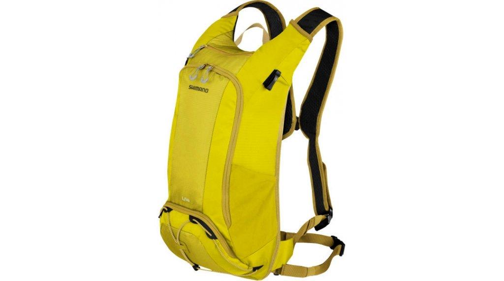 Shimano Unzen Trail 水袋背包 含有 Trinkblase (14L-容积) warm olive
