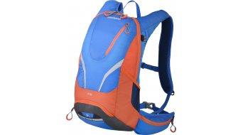 Shimano Rokko II Rucksack Tagesrucksack 12L lightning blau/orange (Trinksystem-kompatibel)