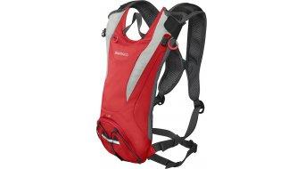 Shimano Unzen II mochila Trail Daypack Liter-Volumen firely rojo (incl. bolsa hidratante)