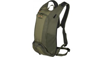 Shimano Unzen Trail 水袋背包 含有 Trinkblase (14L-容积) olive green